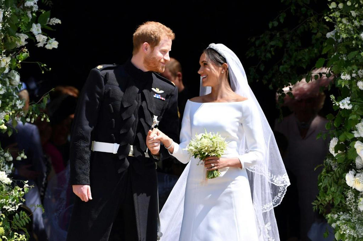 Meghan Markle's gown tops 'most popular wedding dresses of the ...