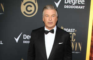 "Alec Baldwin holding a sign posing for the camera: The veteran actor uses his impressive Hollywood connections to show what's going on behind the scenes in his podcast. The official podcast website says: ""Alec follows great conversations in unexpected places to see what motivates his guests, how they think about their work, and what keeps them up at night."" His guests include Hollywood greats like Chris Rock and Michael Douglas."