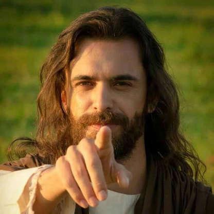 """Slide 23 de 23: O ator Fábio Malosso interpretou Jesus na dramatização do documentário """"Nos Passos do Mestre"""", produzido pelo diretor André Marouço."""