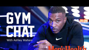 a screen shot of Ashley Walters: GYM CHAT: Top Boy's Ashley Walters Aka Asher D Talks Fitness, His Hate for Burpees, and How Working Out Makes Him a Happier Person.  The musician and producer also opens up about gym insecurities, the pressure to look a certain way and why life isn't worth living if he can't have the occasional pizza!  Men's Health UK  Trusted guidance for men passionate about their health, fitness and mental wellbeing. With muscle-building advice, style hacks, nutrition tips and workouts to try, we've got all areas covered  Men's Health UK: https://www.menshealth.com/uk/ Men's Health UK on Facebook: https://www.facebook.com/menshealthuk/ Men's Health UK on Twitter: https://twitter.com/menshealthuk Men's Health UK on Instagram: https://www.instagram.com/menshealthuk/ Men's Health on Pinterest: https://www.pinterest.co.uk/menshealthuk/  #AshleyWalters #GymChat #MensHealth #TopBoy