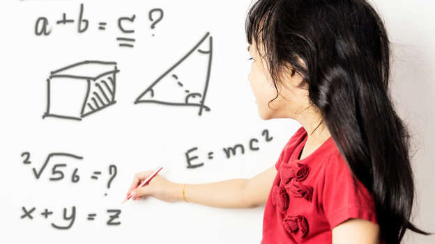ilustrasi anak belajar matematika Foto: Shutterstock