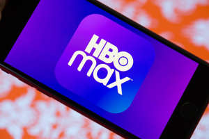a close up of a screen: HBO Max streams all of Warner Bros.' new movies this year at the same time they hit theaters, including the just-added Godzilla vs. Kong. Angela Lang/CNET
