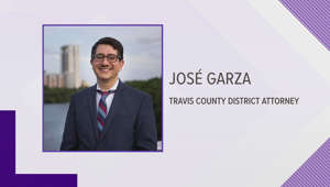 a screen shot of a man in a suit and tie: Travis County DA marks 100 days in office