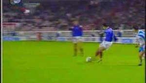 See Israel beat France 3:2 at the last seconds of World Cup 1994 qualifiers campaign in Paris.