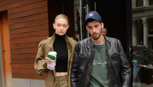Gigi Hadid, Zayn Malik are posing for a picture