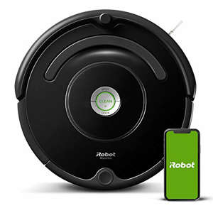 a close up of a speaker: Shoppers are swarming Amazon to get the Roomba 675 robot vacuum while it's only $199!