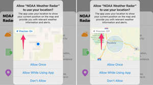 diagram, application: You don't have to tell apps exactly where you are if you don't want to. Screenshots by Jason Cipriani/CNET