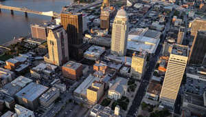 a full view of a city: What is wrong with downtown Louisville?