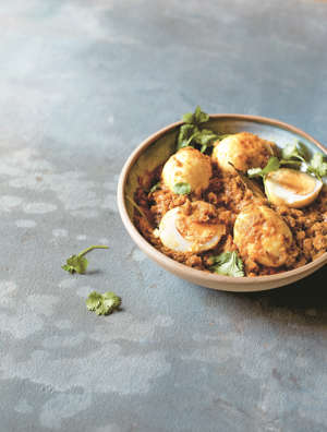 a bowl of food on a plate: The perfect, warming dish for the end of your fastAsma Khan