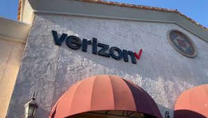 a large orange umbrella: Faster wireless services for some Fresno Verizon customers