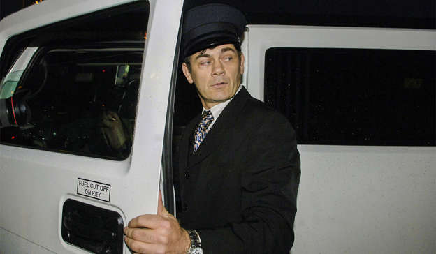 Gerry Hutch standing in front of a car: A nephew of Gerry Hutch, Patrick Hutch Jr, was acquitted of the Regency Hotel murder at the Special Criminal Court two years ago. Pic: RollingNews.ie