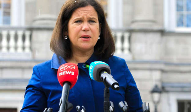 Shortly after Sinn Féin's healthy showing in the 2020 general election Mary Lou McDonald's press handlers sent a notice for an 'event'. . Pic: Gareth Chaney/Collins