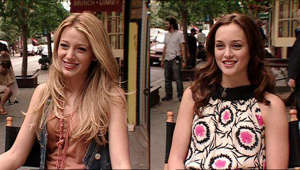 Blake Lively, Leighton Meester are posing for a picture