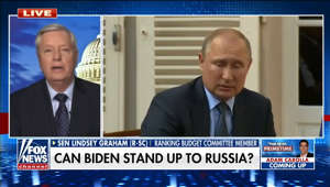 Lindsey Graham, Vladimir Putin are posing for a picture: Biden: 'Putin is looking at a weak adversary' says expert