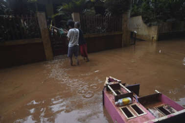 Thousands of houses still submerged in Indonesia