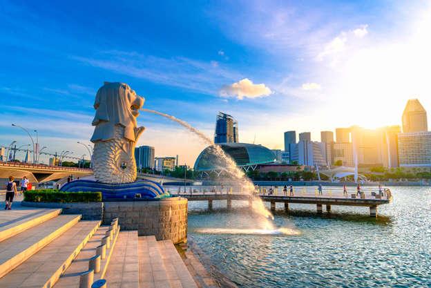 com-Ilustrasi Negara Singapura Foto: Shutterstock