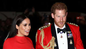 Meghan Markle, Prince Harry posing for the camera