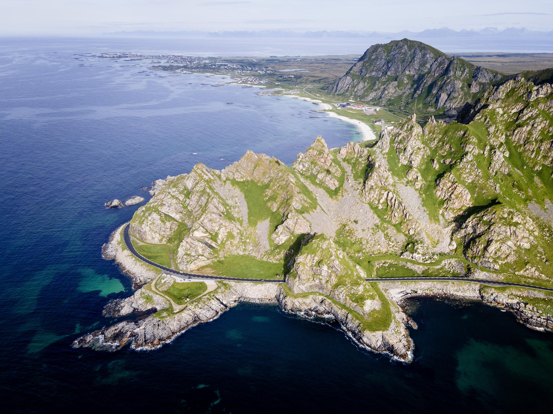 Slide 7 of 41: Beautiful landscape by sea at Andoya- Norway