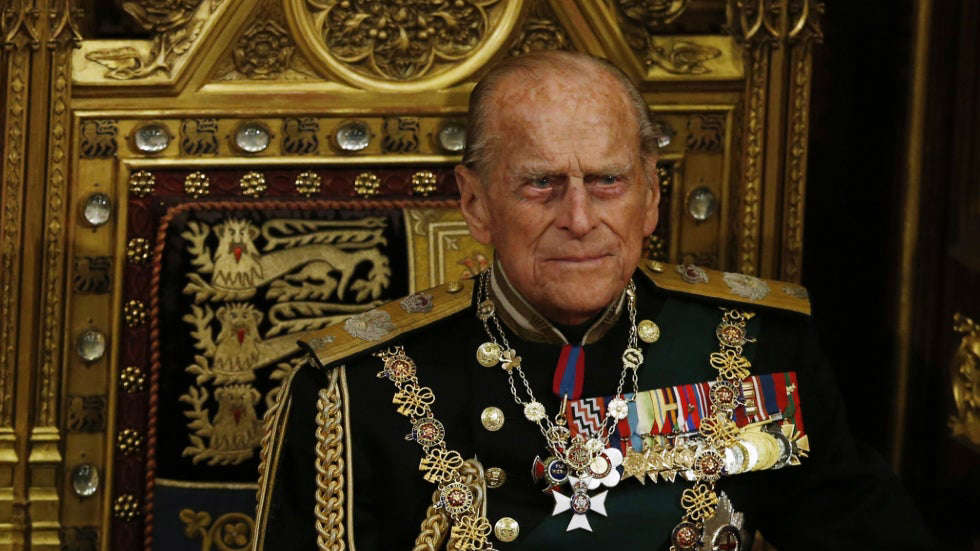 Prince Philip, Duke of Edinburgh wearing a costume: Court rules Prince Philip's will to remain sealed for 90 years