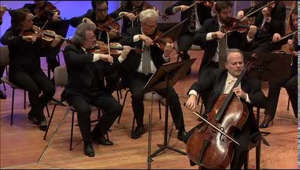 "Max Bruch ""Kol Nidrei"". January 27 2015 International Holocaust Remembrance Day. ""Violins of Hope"" Concert in Berlin Philharmonie with the Berlin Philharmonic Orchestra"