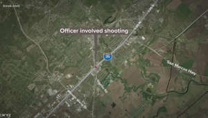 map: San Marcos officer-involved shooting