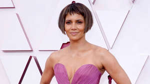 Halle Berry posing for the camera