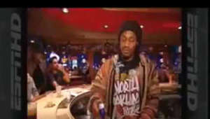 a screen shot of a man: Rookie Marshawn Lynch enjoying the Buffalo night life! Original video was removed when the channel was deleted. I do not own any of the video's content.