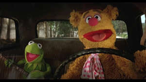 "a teddy bear sitting on top of a car: Streaming Now on Disney+ – Sign Up at https://disneyplus.com/  Move in to the new year and hit the road with Kermit the Frog and Fozzie Bear! Join them for a rollicking sing along to the lyrics of ""Movin' Right Along"" from The Muppet Movie.  Subscribe for all new videos from The Muppets! ► http://di.sn/6002BJA1n  Watch more of the best moments, music videos, and laughs from The Muppets! ► http://di.sn/6007BJ79R  Get more from The Muppets! Disney: http://disney.com/muppets Facebook: https://www.facebook.com/Muppets Twitter: https://twitter.com/TheMuppets Instagram: http://www.instagram.com/themuppets  Welcome to the Official YouTube channel for The Muppets! This channel is home to your beloved group of Muppet friends: Kermit the Frog, Miss Piggy, Fozzie Bear, Gonzo the Great, Animal, Beaker, The Swedish Chef, and more! Subscribe for some of your favorite and best film and television clips from The Muppets, as well as music covers and brand new comedy sketches.  Check out exclusive Muppet parodies, Muppet music videos, Muppet song covers, comedy sketches, and more! Join in the fun with original Muppet comedy shows, TV promos, and charity PSAs."