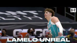 LaMelo already making mind-blowing passes after his return from injury