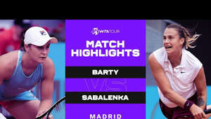 Watch the Match Highlights from Ashleigh Barty vs. Aryna Sabalenka at the 2021 Mutua Madrid Open.  Subscribe to the WTA on YouTube: http://www.youtube.com/subscription_center?add_user=WTA Follow the WTA on Facebook: https://www.facebook.com/WTA​​ Follow the WTA on Twitter: https://www.twitter.com/WTA​​ Follow the WTA on Instagram: https://www.instagram.com/wta​ More Videos: https://www.wtatennis.com​