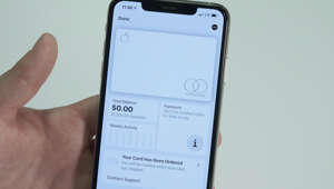 a hand holding a cellphone: Apple's brand new credit card has finally been released to the public. Known as the Apple Card, it integrates with your phone to help you make seamless purchases while earning cash back in the process.