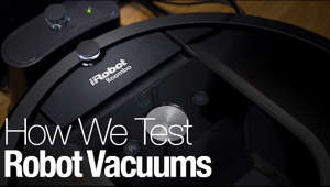 Our robot vacuum reviews and recommendations are backed up by science, data, and our rigorous testing process.