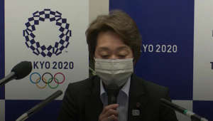a person posing for the camera: Olympics: Tokyo 2020 president says Games will not be cancelled