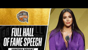 Vanessa Bryant's speech in honor of #20HoopClass inductee, Kobe Bryant.  Subscribe to the NBA: https://on.nba.com/2JX5gSN  Full Game Highlights Playlist: https://on.nba.com/2rjGMge  For news, stories, highlights and more, go to our official website at https://app.link.nba.com/e/NBA_site  Get NBA LEAGUE PASS: https://nba.app.link/nbaleaguepass5