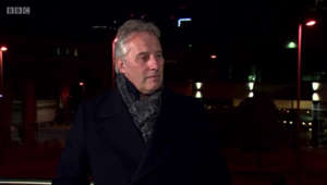 Ian Paisley, Jr. standing in front of a building: DUP: Ian Paisley Jr slams BBC for coverage of Edwin Poots