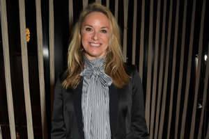 Tamzin Outhwaite standing posing for the camera: Tamzin Outhwaite has shut down reports that she is going on the reality series