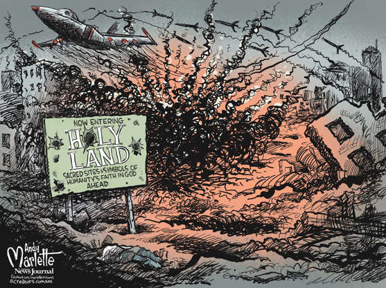 Slide 4 of 63: Andy Marlette, USA TODAY Network