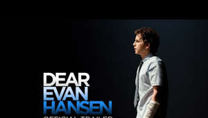 "a man standing in front of a screen: Today is going to be a good day because the trailer is here! #DearEvanHansenMovie, only in theaters September 24. -- https://uni.pictures/DEHfb https://uni.pictures/DEHtw https://uni.pictures/DEHig https://uni.pictures/DEHsite     The breathtaking, generation-defining Broadway phenomenon becomes a soaring cinematic event as Tony, Grammy and Emmy Award winner Ben Platt reprises his role as an anxious, isolated high schooler aching for understanding and belonging amid the chaos and cruelty of the social-media age.     Directed by acclaimed filmmaker Stephen Chbosky (The Perks of Being A Wallflower, Wonder), the film is written for the screen by the show's Tony winner Steven Levenson with music and lyrics by the show's Oscar®, Grammy and Tony-winning songwriting team of Benj Pasek & Justin Paul (La La Land, The Greatest Showman).   Featuring Grammy winning songs, including the iconic anthem ""You Will Be Found,"" ""Waving Through a Window,"" ""For Forever"" and ""Words Fail,"" Dear Evan Hansen stars six-time Oscar® nominee Amy Adams, Oscar® winner Julianne Moore, Kaitlyn Dever (Booksmart), Amandla Stenberg (The Hate U Give), Colton Ryan (Apple TV+'s Little Voice), Nik Dodani (Netflix's Atypical), DeMarius Copes (Broadway's Mean Girls) and Danny Pino (NBC's Law & Order: Special Victims Unit).   Dear Evan Hansen is produced by Marc Platt (La La Land, Into the Woods, Mary Poppins Returns) and Adam Siegel (2 Guns, Drive), and is executive produced by Michael Bederman, Steven Levenson, Benj Pasek and Justin Paul. Universal Pictures will distribute the film in all territories."