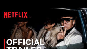 a man holding a sign: HALSTON, starring Ewan McGregor, is the untold story of the meteoric rise and fall of the first American celebrity fashion designer.   HALSTON is A Netflix Limited Series from Executive Producer, Ryan Murphy.  Watch HALSTON, only on Netflix: https://www.netflix.com/HALSTON  SUBSCRIBE: http://bit.ly/29qBUt7  About Netflix: Netflix is the world's leading streaming entertainment service with 208 million paid memberships in over 190 countries enjoying TV series, documentaries and feature films across a wide variety of genres and languages. Members can watch as much as they want, anytime, anywhere, on any internet-connected screen. Members can play, pause and resume watching, all without commercials or commitments.  HALSTON | Official Trailer | Netflix https://youtube.com/Netflix  His name built an empire. His style defined an era. American fashion designer Halston skyrockets to fame before his life starts to spin out of control.