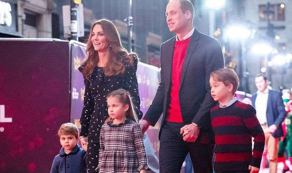 a person standing in front of Prince William, Duke of Cambridge et al. posing for the camera: kate middleton prince william children prince george princess charlotte prince louis news