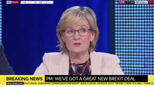 a screen shot of Mairead McGuinness: Brexit: Mairead McGuinness says UK and EU are 'linked forever'