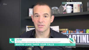a screen shot of Martin Lewis: Martin Lewis issues warning about Bitcoin scams