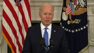 Joe Biden wearing a suit and tie: Biden focuses on restaurants hit by pandemic