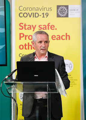graphical user interface: It was revealed earlier this week that the Health Service Executive (HSE) IT systems had been breached by hackers. Pic: Leon Farrell/Photocall Ireland