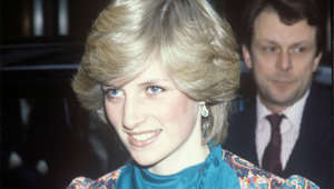 Diana, Princess of Wales posing for the camera