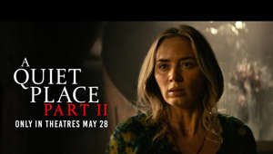 Emily Blunt looking at the camera: Experience #AQuietPlace Part II only in theatres May 28.  Following the deadly events at home, the Abbott family (Emily Blunt, Millicent Simmonds, Noah Jupe) must now face the terrors of the outside world as they continue their fight for survival in silence. Forced to venture into the unknown, they quickly realize that the creatures that hunt by sound are not the only threats that lurk beyond the sand path.   #AQuietPlace Part II http://facebook.com/AQuietPlaceMovie http://instagram.com/AQuietPlaceMovie http://twitter.com/QuietPlaceMovie  Paramount Pictures Corporation (PPC), a major global producer and distributor of filmed entertainment, is a unit of Viacom (NASDAQ: VIAB, VIA), home to premier global media brands that create compelling television programs, motion pictures, short-form content, apps, games, consumer products, social media experiences, and other entertainment content for audiences in more than 180 countries.   Connect with Paramount Pictures Online:   Official Site: http://www.paramount.com/ Facebook: https://www.facebook.com/Paramount Instagram: http://www.instagram.com/ParamountPics Twitter: https://twitter.com/paramountpics YouTube: https://www.youtube.com/user/Paramount