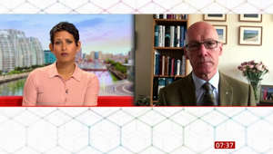 Naga Munchetty, John Swinney are posing for a picture: SNP: Swinney on not gaining 'two key target seats'