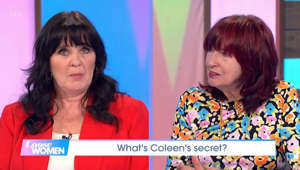 Coleen Nolan et al. looking at the camera: Loose Women: Janet asks Coleen about her new vegan diet