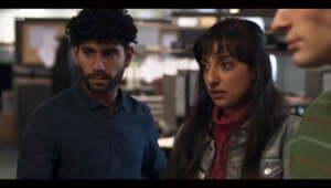 Kiran Sonia Sawar et al. looking at the camera: Danny Boy: BBC teases new war drama film