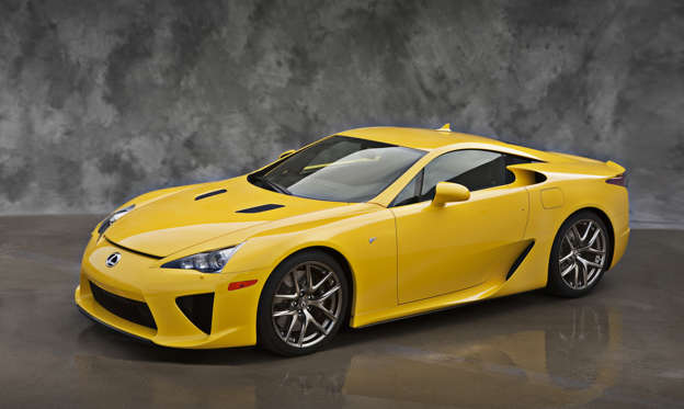 Slide 1 of 13: 2012 Lexus LFA